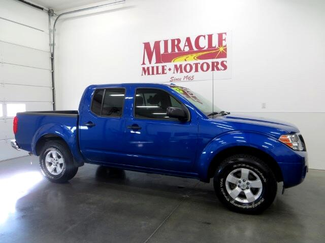 Used 2013 nissan frontier sv crew cab swb 4wd for sale in for Miracle mile motors lincoln ne