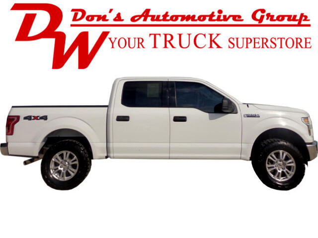 2016 Ford F-150 SuperCrew 4WD
