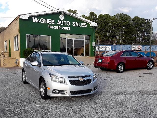 2012 Chevrolet Cruze LT Manual
