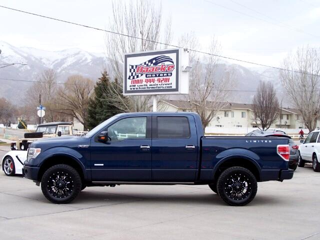 2014 Ford F-150 Limited SuperCrew 5.5-ft. Bed 4WD