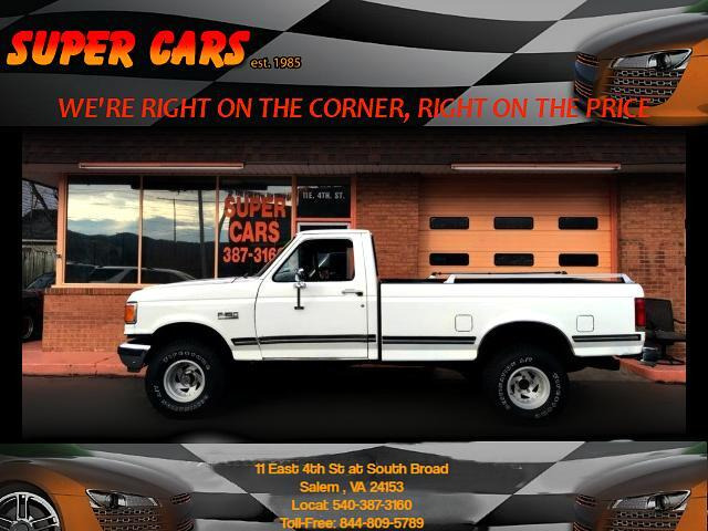 1989 Ford F-150 S Reg. Cab Long Bed 4WD