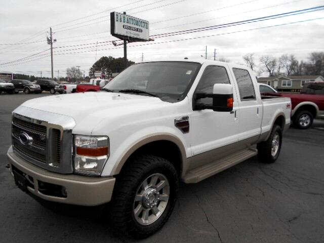 2008 Ford F-250 SD KING RANCH 4WD CREW CAB