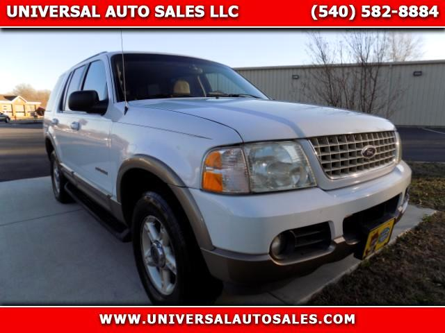 used 2002 ford explorer eddie bauer 4wd for sale in spotsylvania va 22551 universal auto sales. Black Bedroom Furniture Sets. Home Design Ideas