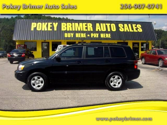 2007 Toyota Highlander V6 2WD with 3rd-Row Seat