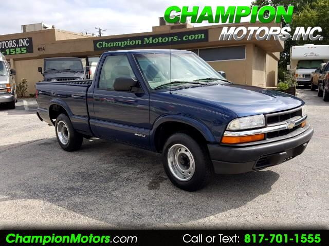 2000 Chevrolet S10 Pickup 2WD