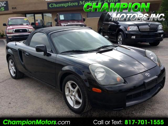 2000 Toyota MR2 Spyder Convertible