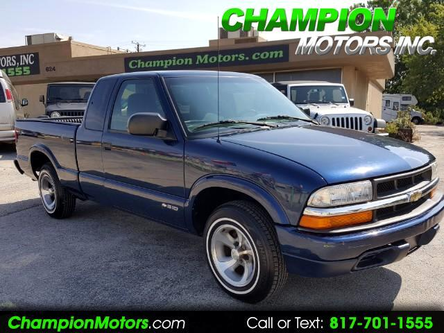 2000 Chevrolet S10 Pickup Ext. Cab 2WD
