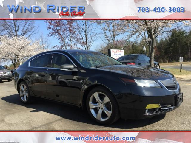 2012 Acura TL with Advance Package