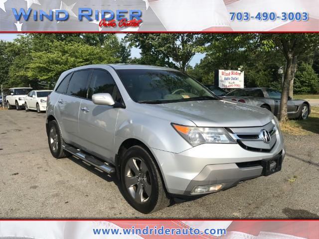 2008 Acura MDX Sport Package and Entertainment Package