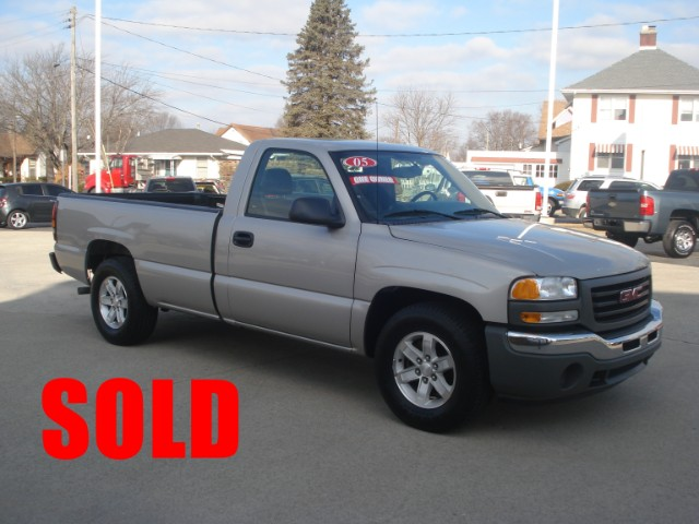 2005 GMC Sierra 1500 Work Truck Long Bed 2WD