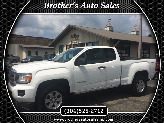 used 2015 gmc canyon base ext cab 4wd for sale in huntington wv 25701 brother 39 s auto sales. Black Bedroom Furniture Sets. Home Design Ideas