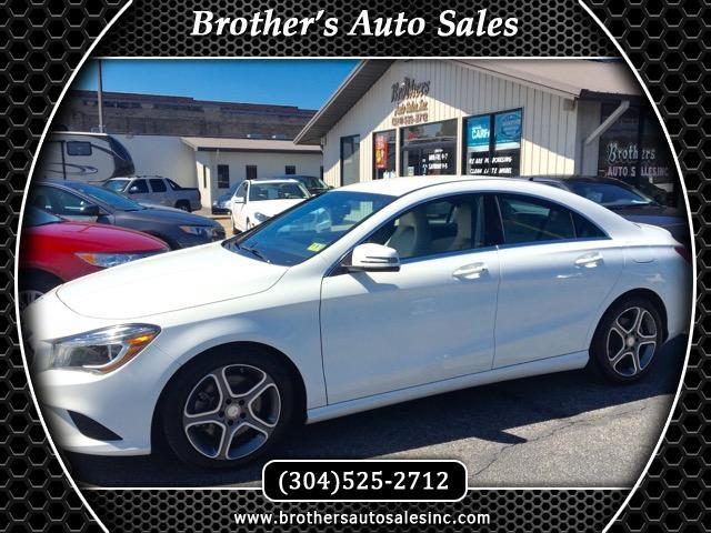 used 2014 mercedes benz cla class cla250 for sale in huntington wv 25701 brother 39 s auto sales. Black Bedroom Furniture Sets. Home Design Ideas