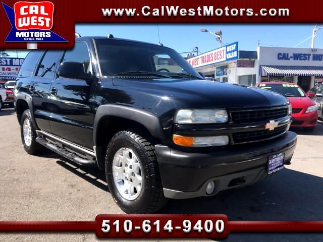 2005 Chevrolet Tahoe Z71 4x4 3Row Leathr DVD VeryClean GreatMtnceHist