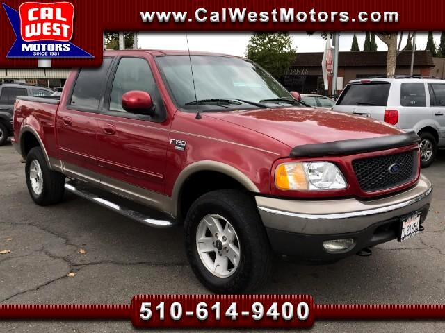 2002 Ford F-150 4x4 SuperCrew FX4Off-Road LoMiles VeryClean ExMtnc