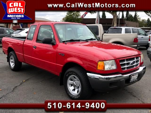 2001 Ford Ranger XLT SuperCab 2D 4Cyl 5-Speed AC 93K Clean and Orig