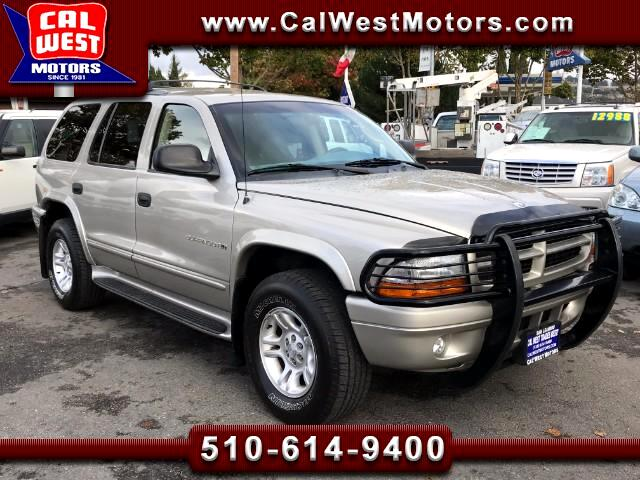 2001 Dodge Durango 4X4 SLT 3Rows LowMiles Leathr 1Owner GreatMtnceHis