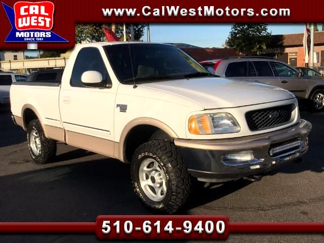 1998 Ford F-150 4x4 Regular Cab Short Bed ExClean NewGoodYears Nic
