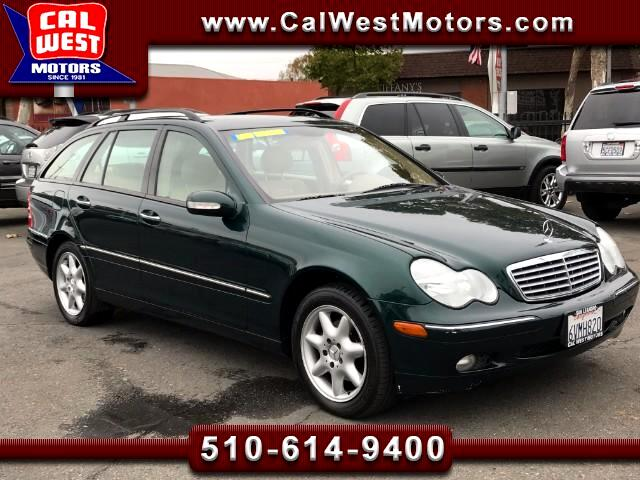 2003 Mercedes-Benz C-Class Wagon C240 Sport Wagon Only74K SuperClean GreatMtnceHist