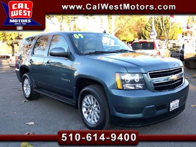 2009 Chevrolet Tahoe Hybrid 3Rows BOSE DVD Blu2th 1Owner SuperClean ExMtnceHis