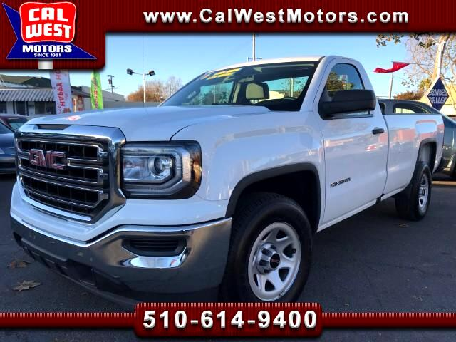 2016 GMC Sierra 1500 RegularCab PU 8Ft FactoryWarranty 1Ownr SuperClean