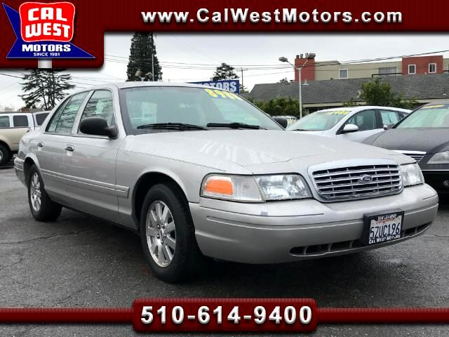 2006 Ford Crown Victoria LX Sedan Leather SuperClean LoLoMiles GreatMtnceHi