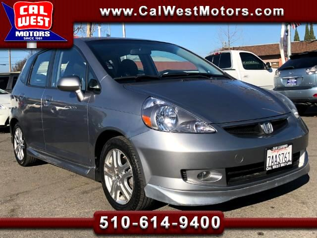2008 Honda Fit Sport 5-Speed AUX USB GreatMPG 1Owner ExprtlyMaint
