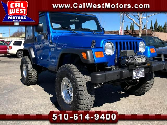 2003 Jeep Wrangler X 4X4 I-6 5-Speed Only17Kmiles SuperClean ExMtnce