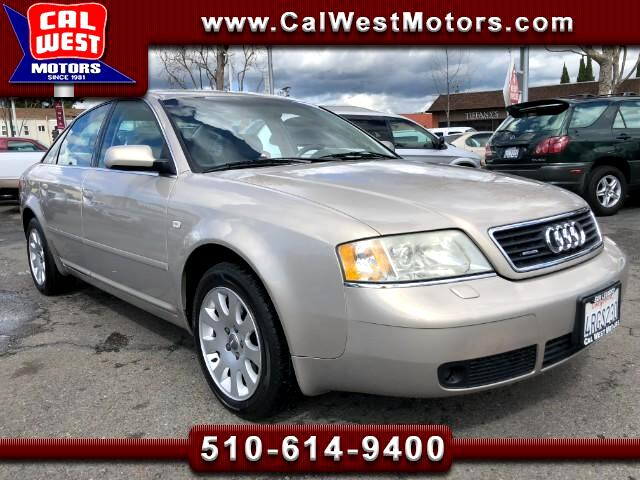 2001 Audi A6 2.8 Quattro AWD Roof BOSE LoMiles VeryClean ExMtnc
