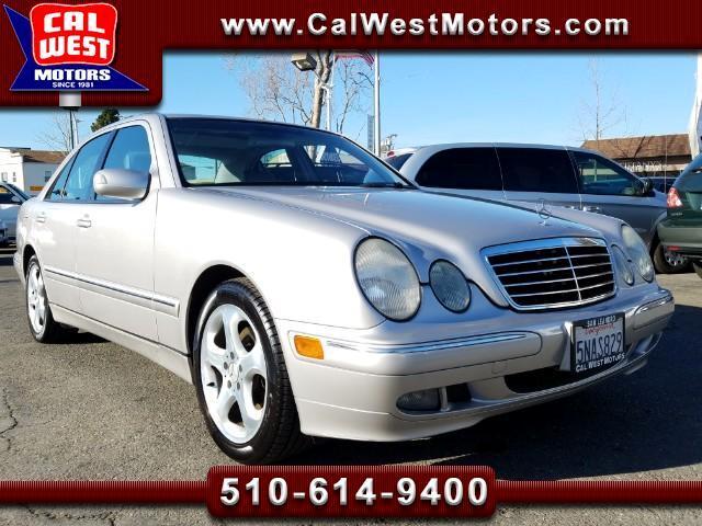 2002 Mercedes-Benz E-Class E320 Sedan SuperClean LowMiles GreatMtnceHist