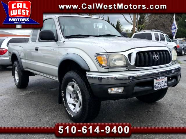 2002 Toyota Tacoma 4X4 XtraCab TRDOff-Road 1Owner SuperClean ExMtnce