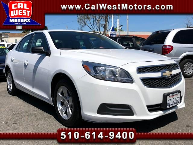 2013 Chevrolet Malibu LS Sedan Blu2th Aux 1Owner VeryClean RoomyMPG