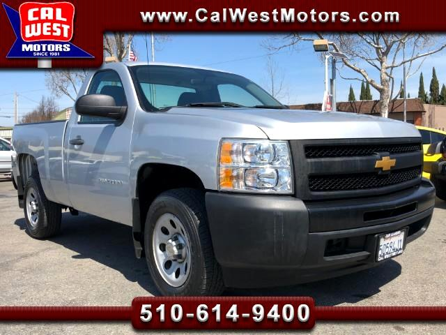 2013 Chevrolet Silverado 1500 RegularCab ShortBed V6 1Owner VeryClean WellMaintn