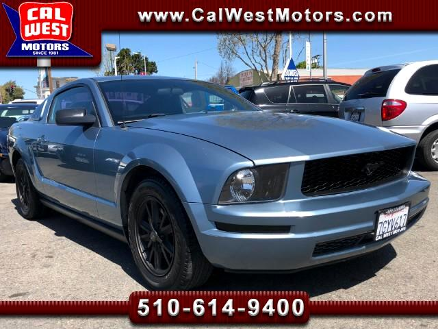 2005 Ford Mustang V6 Deluxe Coupe Auto AC VeryClean ExMtnceHist
