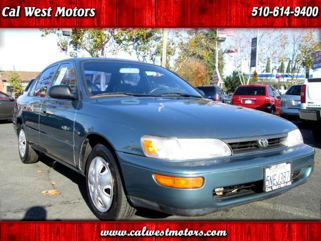 1995 Toyota Corolla Sedan 4D VeryClean GreatMPG LastsForever