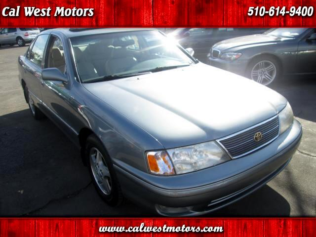 1998 toyota avalon xls sedan 4d 1owner leather mnroof likenew for Cal west motors san leandro ca