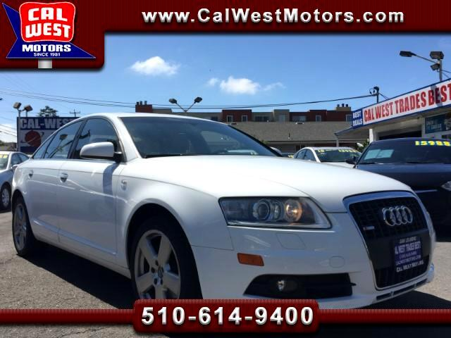 2008 Audi A6 S-Line Quattro Blu2th NAV SuperClean GreatMantnce