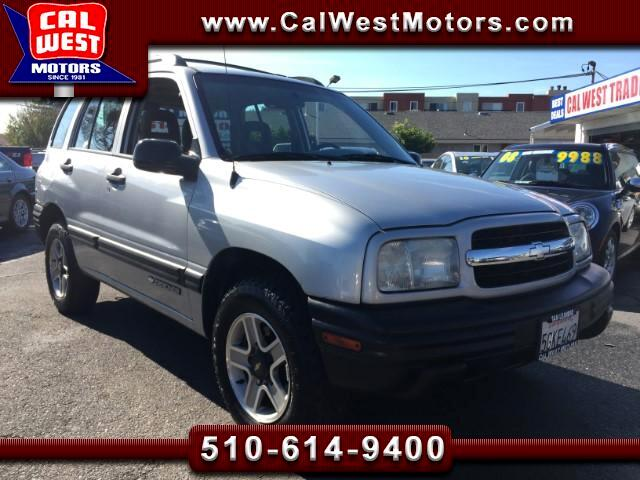 2002 Chevrolet Tracker 4X4 5-Speed ExMPG VeryClean ExpertltMaintnd