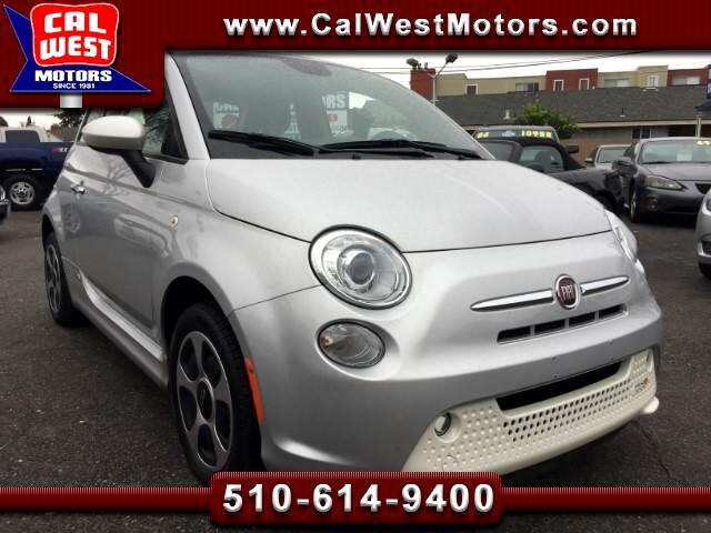 2013 Fiat 500e Hatchback 2D GPS Blutooth ExClean FactoryWarranty