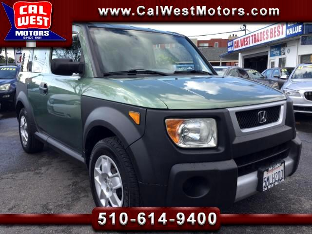 2005 Honda Element LX SUV 5D 5-Speed 1Owner VeryClean GreatMtnceHist