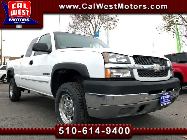 2003 Chevrolet Silverado 2500HD 4X4 LS Ext Cab 4D 1Owner VeryClean LoMles WellMtnd