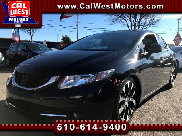 2013 Honda Civic Si Sedan Blu2th BU-Cam 1Owner VeryClean ExMtnceHis