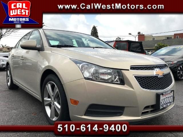 2012 Chevrolet Cruze 2LT Blu2th Leather 60K SuperClean ExMtnceHist