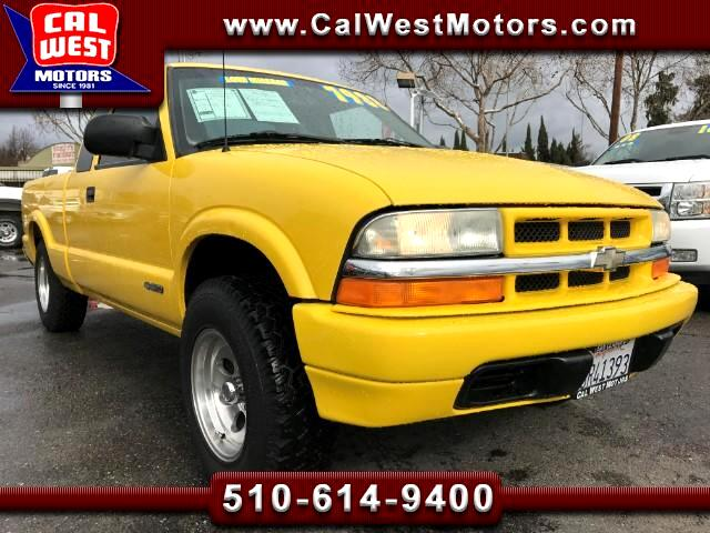 2001 Chevrolet S10 Pickup Ext. Cab 3D Auto AC VeryClean GreatMtnceHist