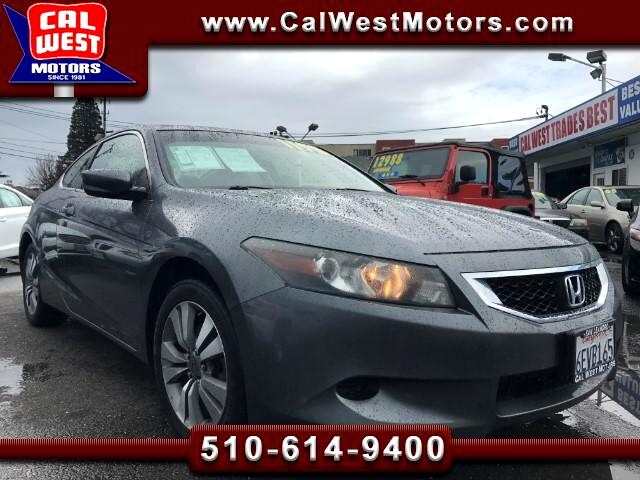 2008 Honda Accord EX-L Coupe Roof Leather XM VeryClean ExMtnceHist