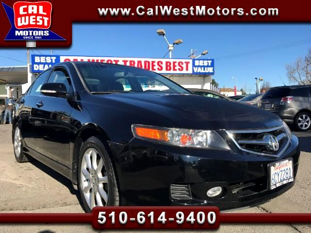 2008 Acura TSX Sport Sedan Leathr Blu2th 1Owner GreatMtnceHist