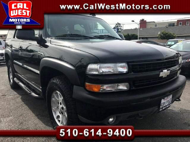 2003 Chevrolet Tahoe 4X4 Z71 Off­-Road Leather 3Rows VeryClean ExMtnceH