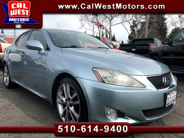 2008 Lexus IS 250 Navigation Blu2th BU-Cam VeryClean GreatMtnceH