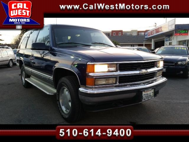 1999 Chevrolet Tahoe LT 4X4 Leather VeryClean ExpertlyMaintnd
