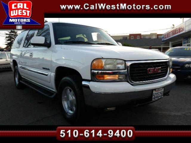 2003 GMC Yukon XL 4X4 SLT 3Rows Leather 1Owner SuperClean GreatMtnce