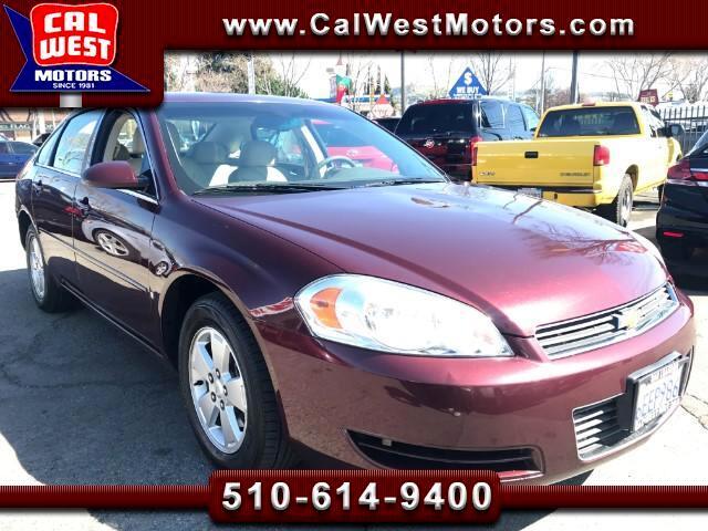 2007 Chevrolet Impala LT Leather Spoiler 69K 1Owner SuperClean ExMtnce
